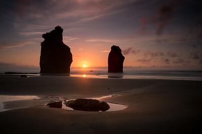 Three Points Of Sunset