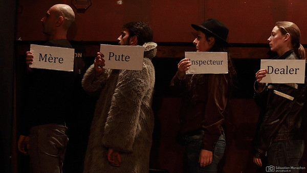 On parle bien d'un volatile quelconque? - la compagnie dans l'escalier - Théâtricul - Genève - 9 février 2015