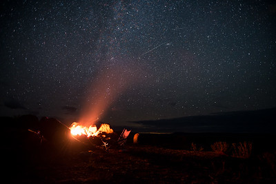 Nigth at Alvord Desert