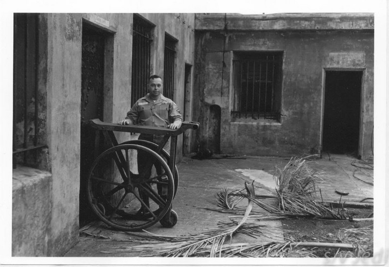 US Army document World War I Fortifications of the Panama Canal - Ammunition Cart (Battery MORGAN)