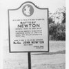 US Army document World War I Fortifications of the Panama Canal - Historical Marker (Battery NEWTON)