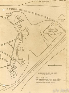 US Army document World War I Fortifications of the Panama Canal - Fort Grant
