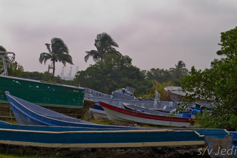 Busted drugs smugler boats