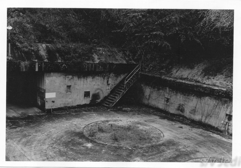 US Army document World War I Fortifications of the Panama Canal - 12-Inch Mortar Emplacement (Battery BAIRD)