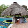 Pool bar at Melia hotel. - The pool bar at Melia hotel at the banks of lake Gatun in Colon, Panama.