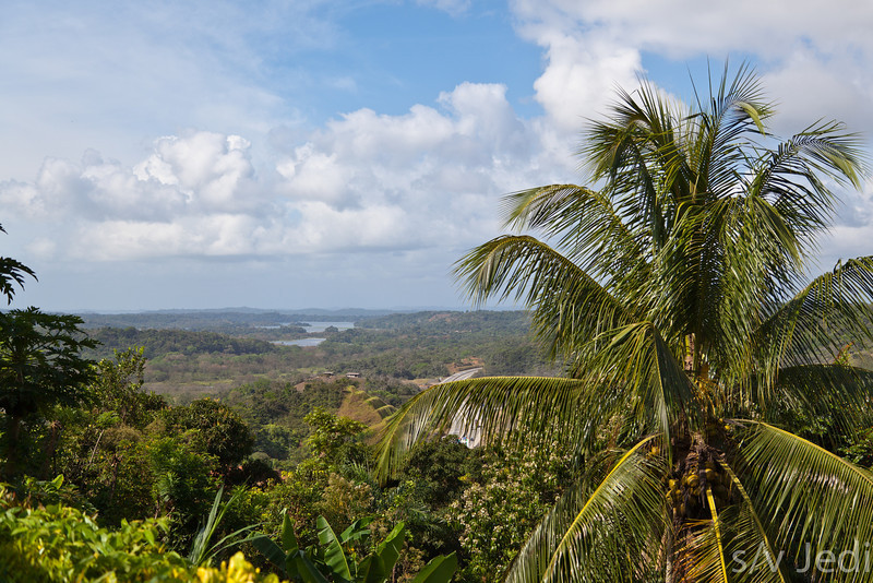 View over Panama