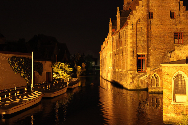 Bruges also has a system of canals