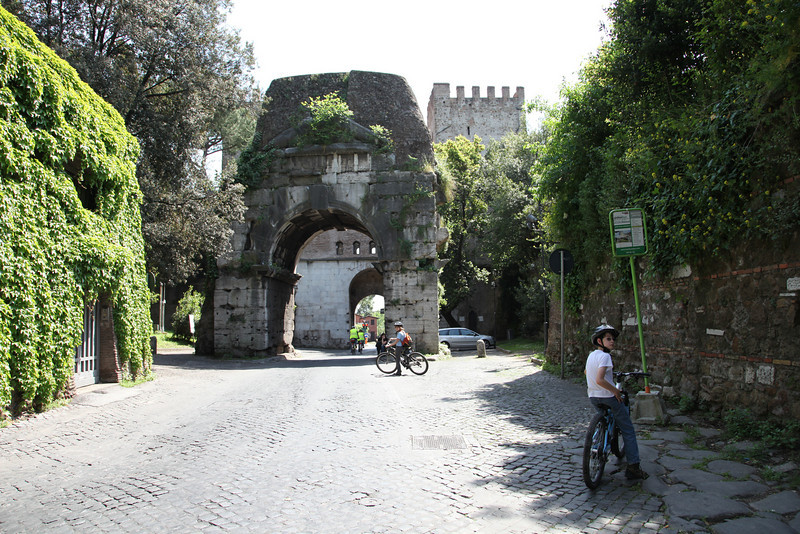 The Roman gate to the city