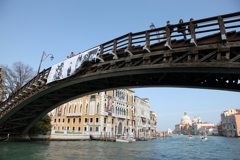 The bridge from the San Marco to Dorsoduro district
