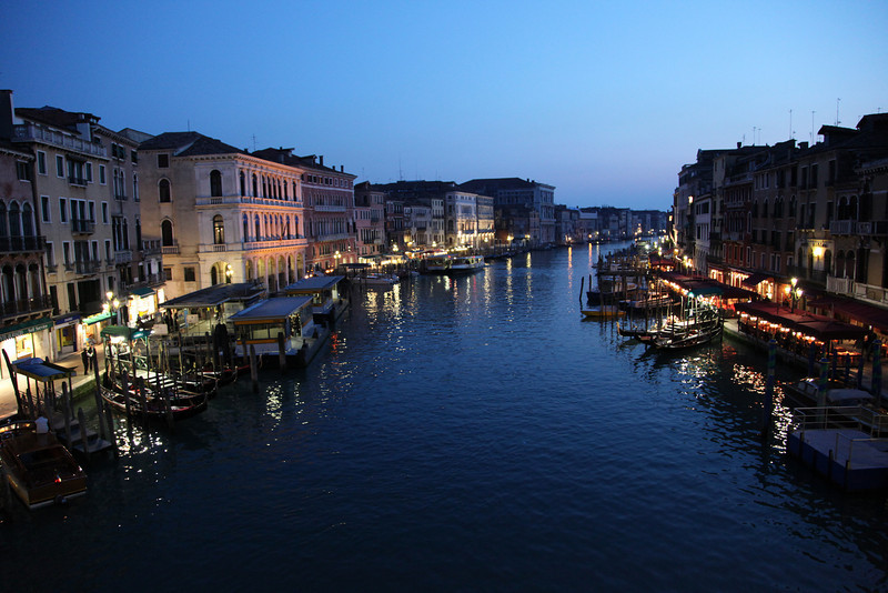 The Grand Canal, from Rialto bridge