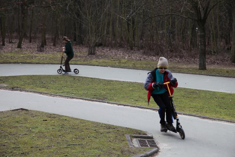 Found a mini race course in Bois de Boulogne
