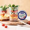 Nautilus Food - Salade en bocal l'émietter végétal tomates/piment rouge