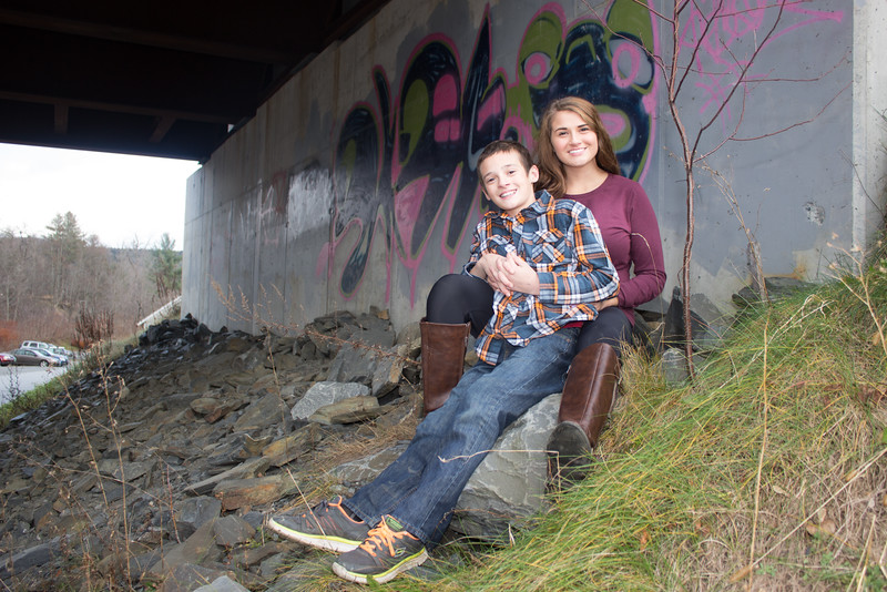Alex & Amber Under The Bridge