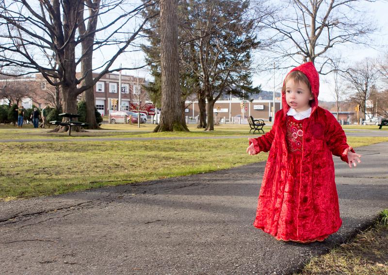 Little Red Walking