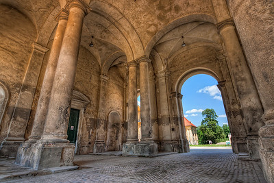 Amazing details  What a scene for HDR. You have so much detail here, which was hidden in the normal photo, and such a huge difference between dark and light areas. I took this one at the Chateau Lednice in Czech republic.  HDR from three shots, taken with Canon 450D with Sigma 10-20mm lens, from a tripod.