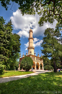 Framed Minaret Today I selected one of my older photos, one from the last summer. As it was still taken with my old Canon 450D and I only had 3 brackets, it was great that everything worked so fast while editing it compared to my new photos :) For those interested, this is the Minaret in the middle of the chateau park in Lednice, Czech Republic