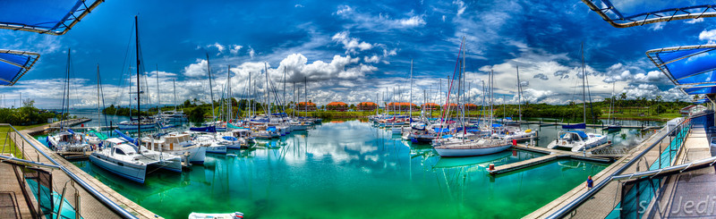 Shelter Bay Marina HDR