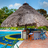 Pool bar at Melia hotel. - The swimming pool bar at the Melia hotel, on the banks of lake Gatun in Colon, Panama.