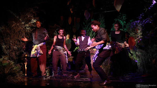 Procès Mobutu - MeS Cie Kongo Peeps - Théâtre 2.21 - Lausanne - 6 janvier 2016
