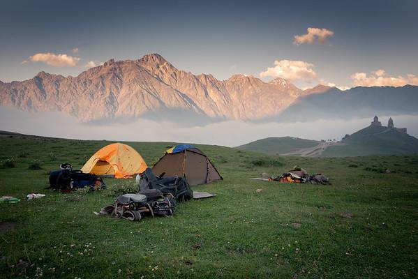 Gergeti Camp