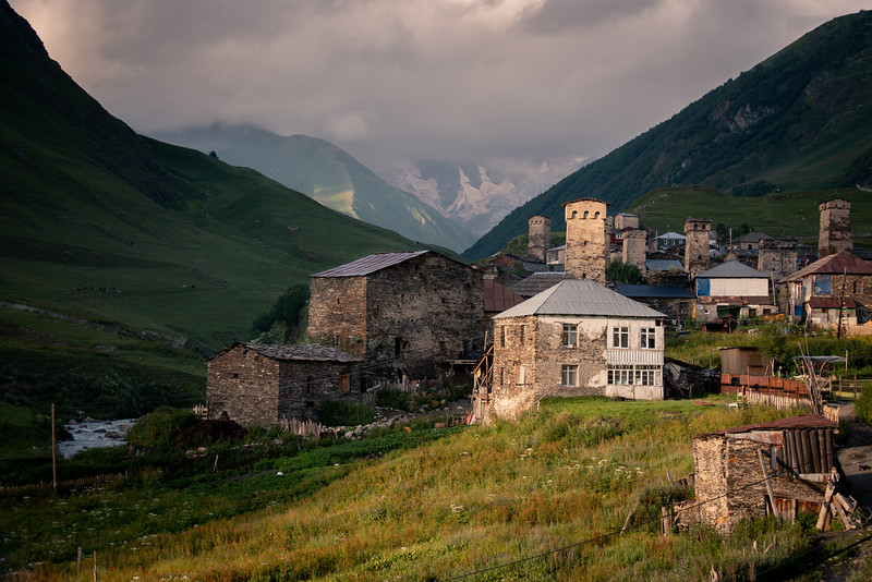 Triangles of Svaneti