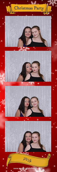 Christmas party at Hereford's Secret Garden  #eventphotobooth