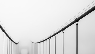 Rails to the fog
