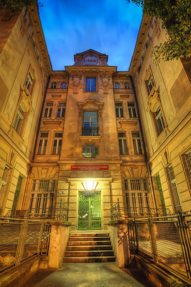 Green door to 1906