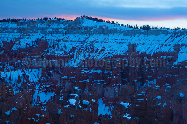 Sunset in Bryce