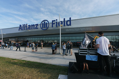 Minnesota United vs LA Galaxy at Allianz Field, Saint Paul, MN, USA. 5/24/19
