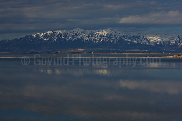 Lakeside Mountains and the Great Salt Lake