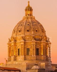 Capitol of Minnesota - Domes
