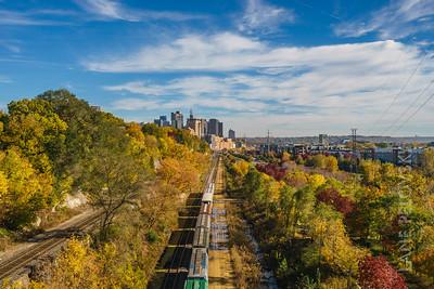 Fall in St. Paul, Minnesota, USA. 2016.
