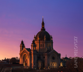 Cathedral of Saint Paul - Sunrise