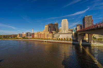 Wabasha Bridge and the Mississippi