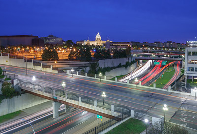 Capitol Light Trails