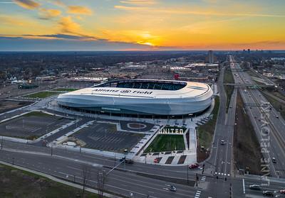 Allianz Field Sunrise