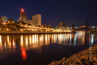 St. Paul Bridges and Lights never sleep