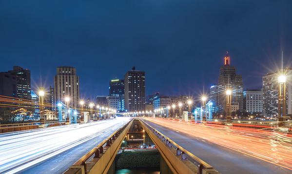 St. Paul Skyline and Wabasha Street Bridge