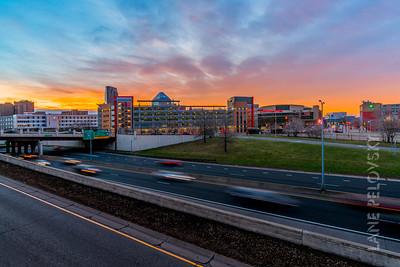 Spring Sunrise in Saint Paul