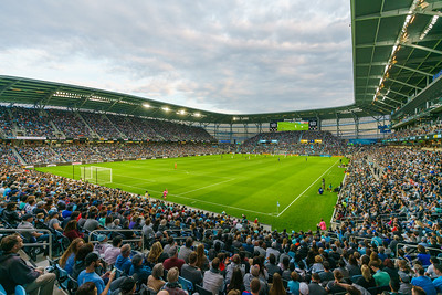 Architecture at Allianz Field