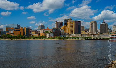 St. Paul City and the Mississippi