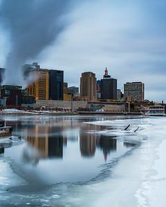 Downtown Saint Paul, Minnesota, USA. 2018.