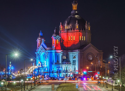 Red Bull Crashed Ice - St. Paul Cathedral Part 2
