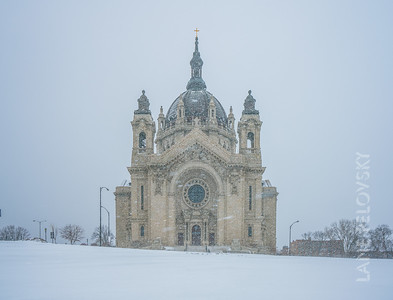Cathedral of Saint Paul - Blizzard