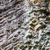 Rock wall - Crystal-like rock formations