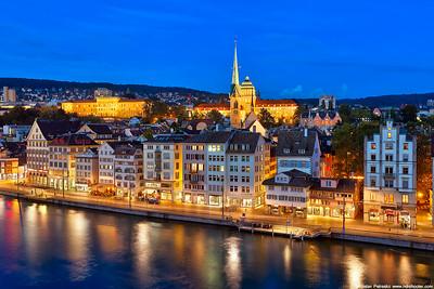 Evening in Zurich