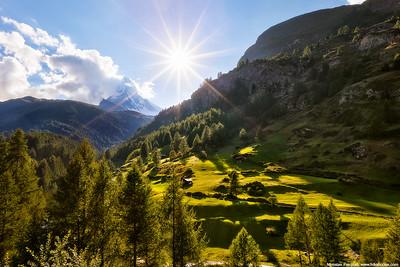 Sunny moment at Matterhorn