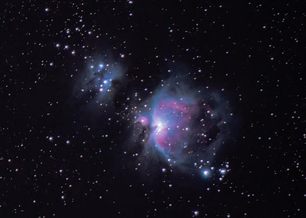 Full Orion Nebula (3x Drizzle)
