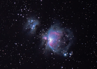 Full Orion Nebula (3x Drizzle)